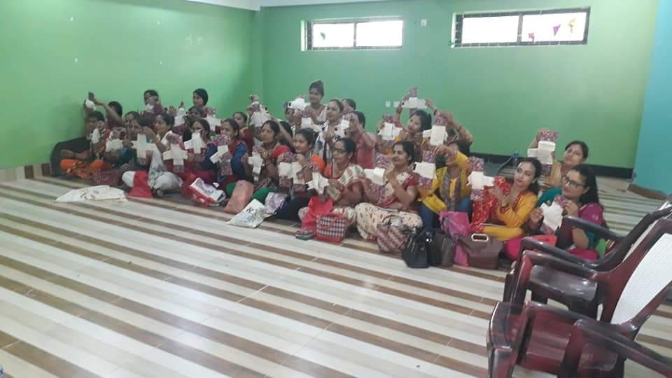 Reusable Sanitary Pad Nepal, Sainamaina nagar palika